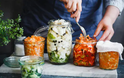 Immune System Support Spicy Pickled Vegetables Recipe