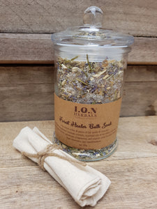 Forest Healer Herbal Bath Soak to help soothe minor pains of the joints and relax those aching muscles.