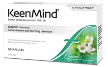 FLORDIS KEENMIND Supports Memory, Concentration and Learning Retention