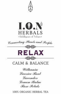 RELAXing herbal tea when used regularly encourages relaxation, calm and balance.
