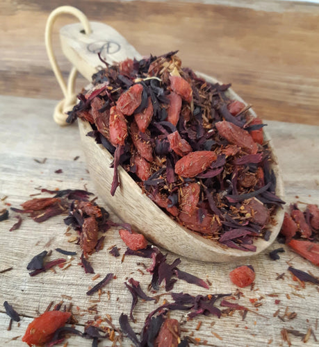 Rosehip, Hibiscus, Rooibus, Goji Berry Herbal Tea