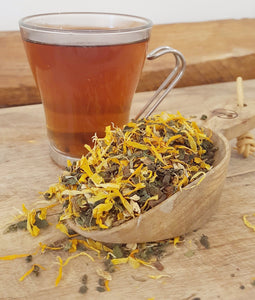 A gentle, nourishing and detoxifying herbal tea to support the kidneys, liver, gut and lymphatic system