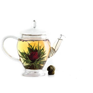 Flowering Tea Ball White Tea, Lavender & Hibiscus
