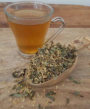 COLDnFLU herbal tea supports a fever through its stages and helps to ease the symptoms of a cold or flu.