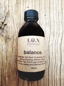 A balancing liquid herbal tincture to increase the body's natural resistance to daily stressors.