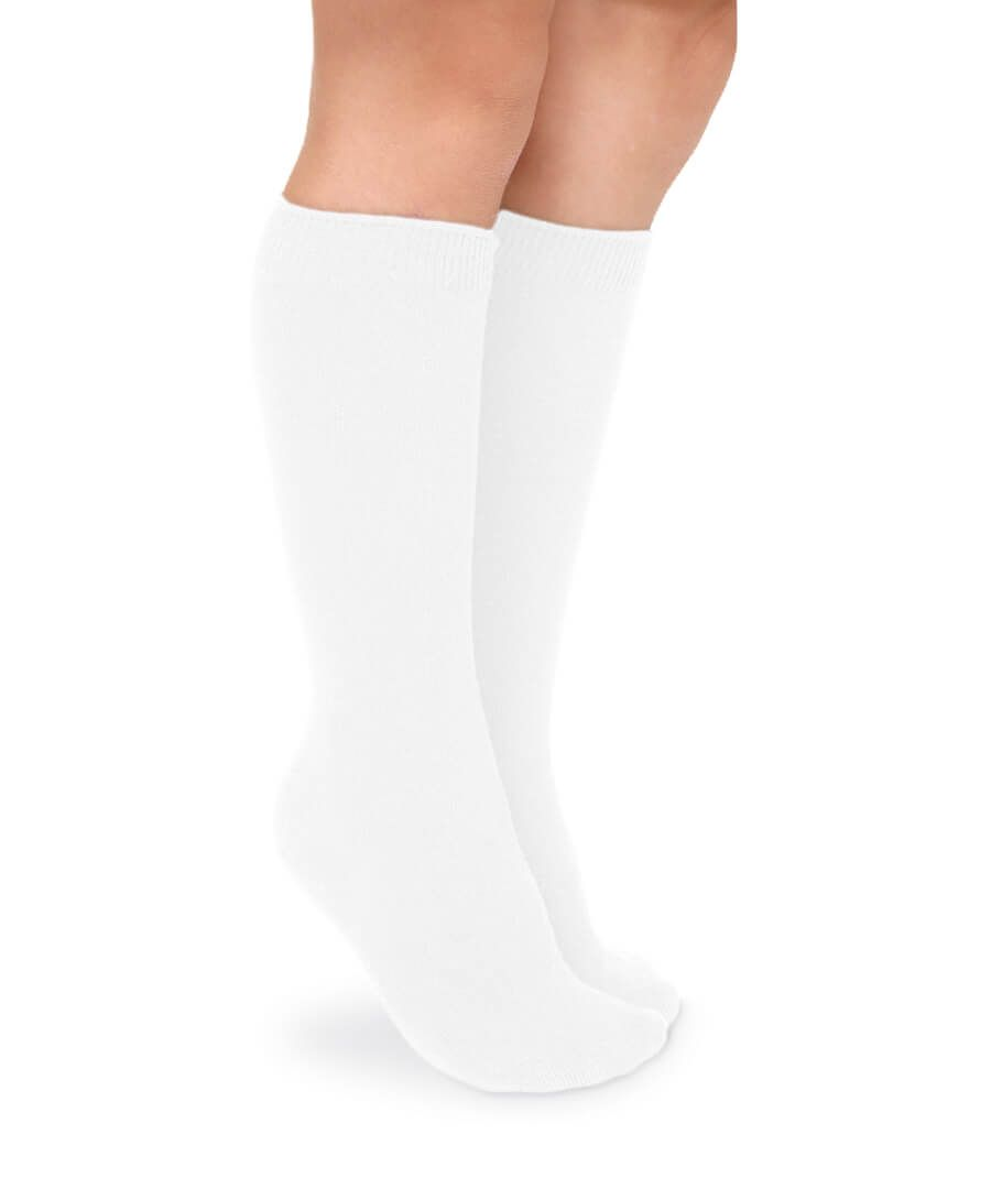 Smooth Toe Cotton Knee High Socks 2 Pair Pack