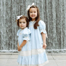 Light Blue/Ecru Heirloom Dress PREORDER