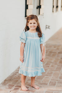 Light Blue Heirloom Dress