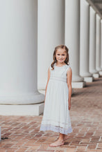Sleeveless Off White Heirloom Dress PREORDER