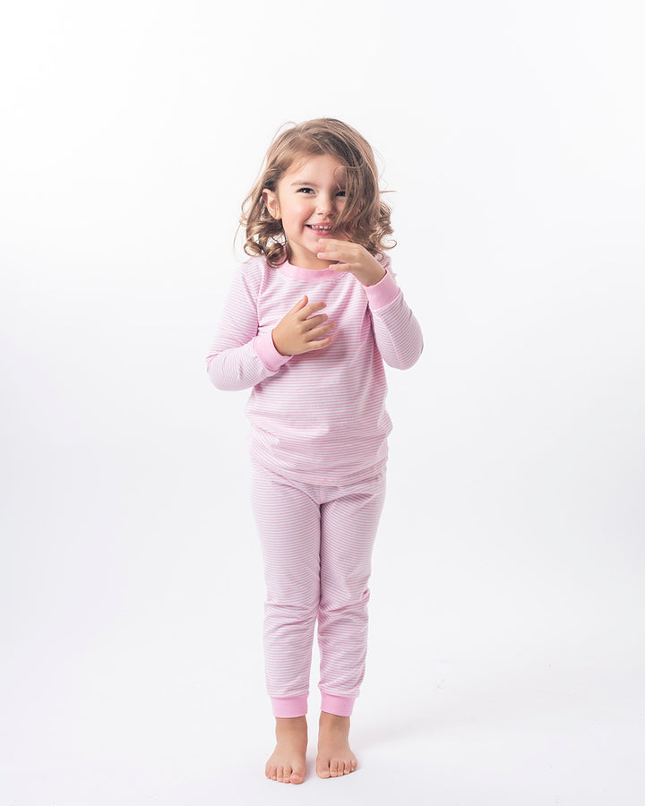 smock-candy_Loungewear_Light Pink Stripe Loungewear