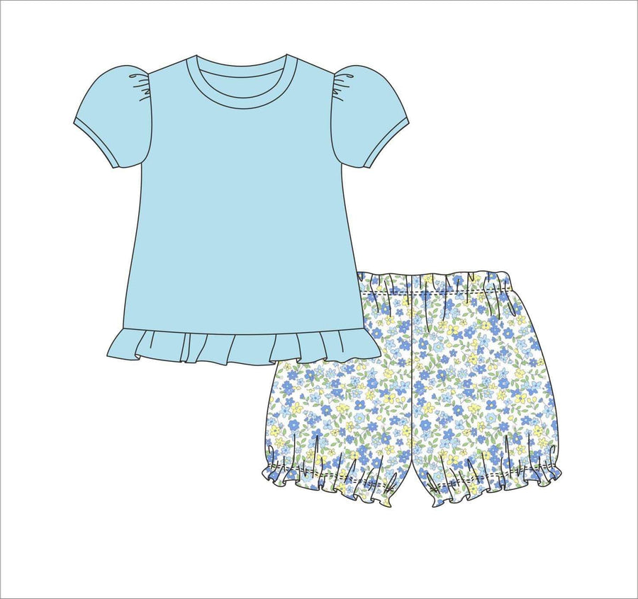 May Flowers Bloomer Set