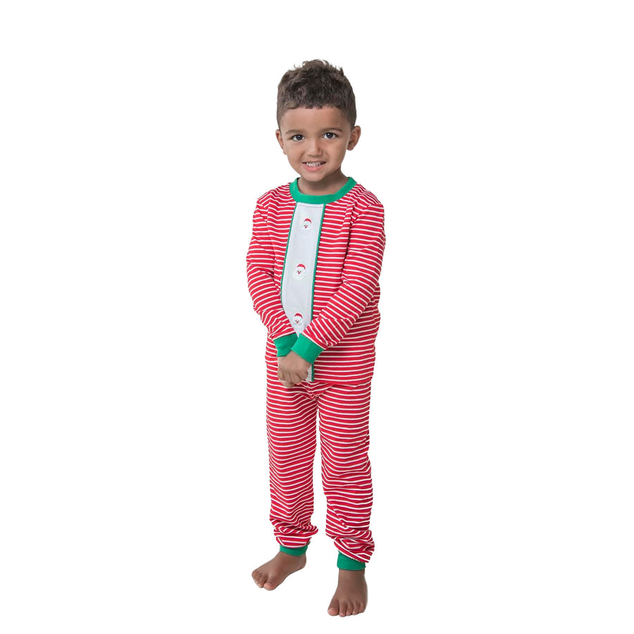Mini Santa Embroidery Loungewear