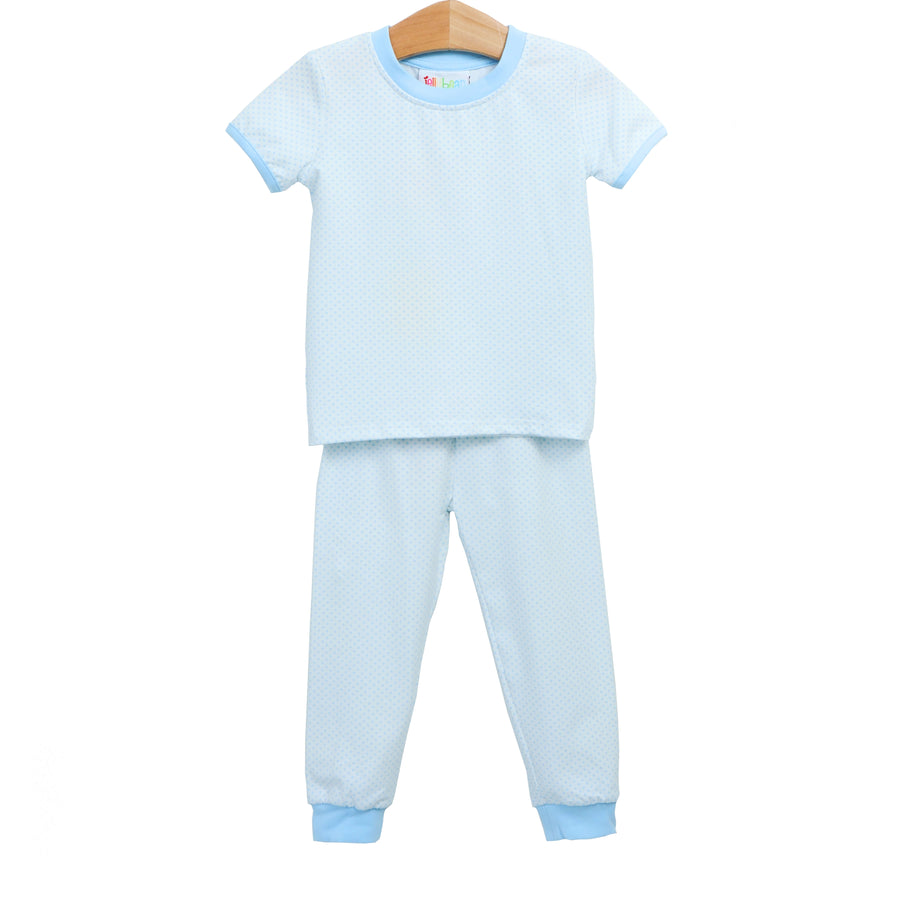 Light Blue Dot Loungewear