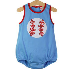 Baseball Applique Bubble