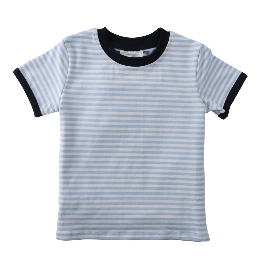Knit Striped Shirt (4 Color Options)