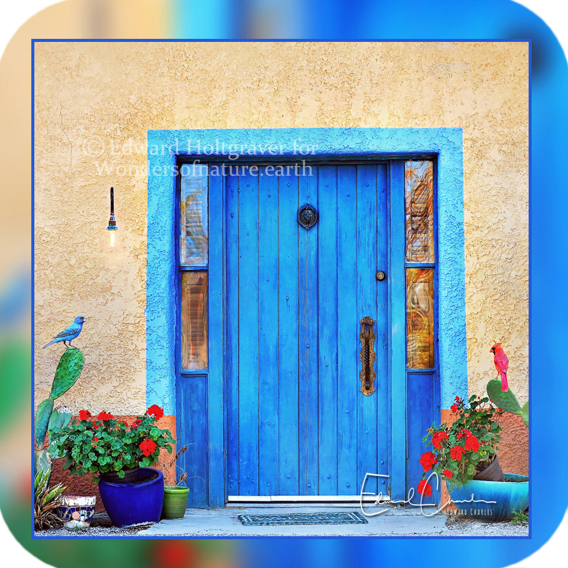 Structures - Blue Door from Tucson, Arizona