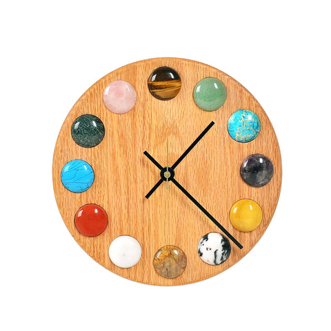 Gemstone Clock