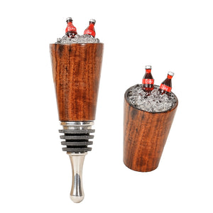 Wine Stopper with Soda Bottles in Ice