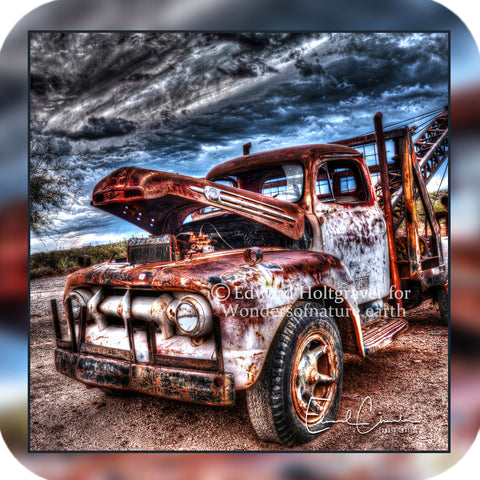 Rust - Ford Tow Truck