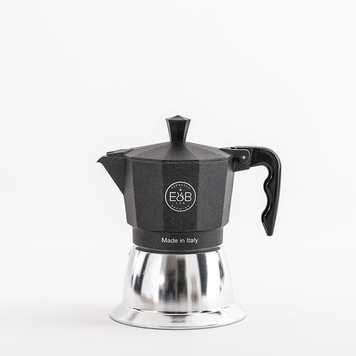 Moka Pot Induction 3 cup   -15% discount