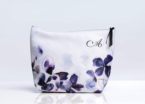 Makeup bag in Frosted Petal Print