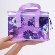 Periwinkle Bloom Insulated Lunch Bag
