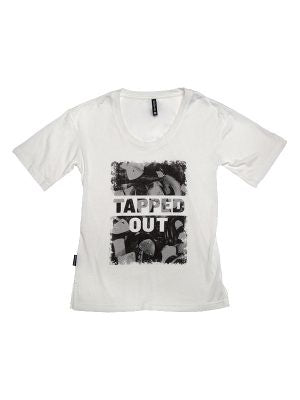 Tapped Out Oversized Tee Adult