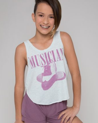 Valerie Musician Youth Summer Breeze Tank