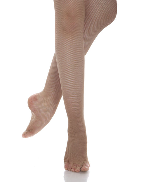 Classic Footed Fishnet Tights - Girls