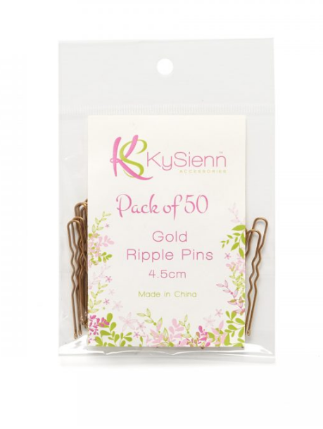 4.5cm Ripple Pins 50 Pack