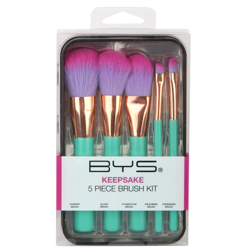 Make up Brushes in Keepsake Tin