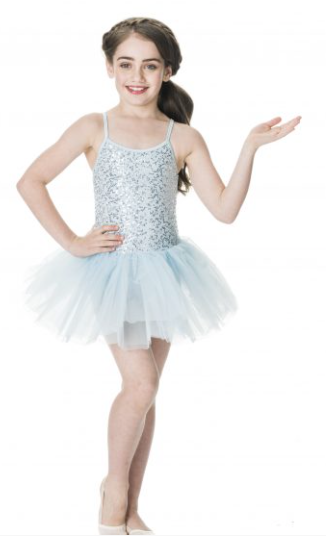 Sequin Tutu Dress