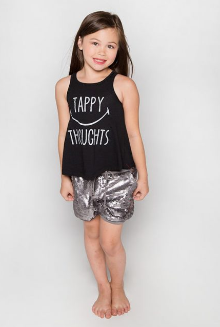 Tappy Thoughts Everyday Tank - ITTY BITTY