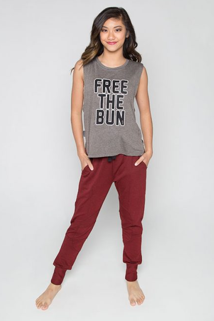 Lacey Free The Bun Metro Tank -Adult