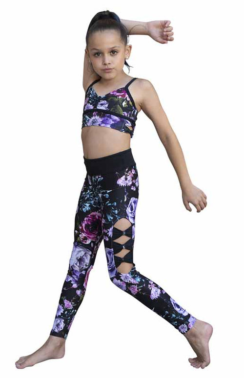 Midnight Garden Legging - Child