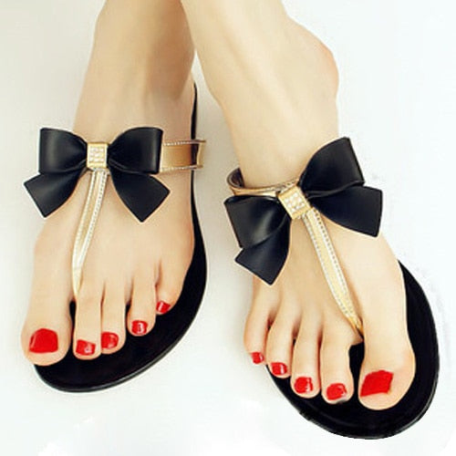 Bow Women Shoes Jelly Sandals