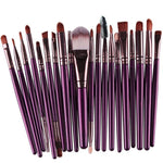 20 pcs Makeup Brush Set - PEARLY MUSIC