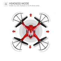 HS200 RC Drone with FPV HD Wifi Camera Live Feed Gyro Quadcopter with Altitude Hold, Gravity Sensor and Headless Mode RTF Helicopter - PEARLY MUSIC