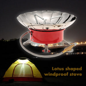 Retracted Windproof Camping  Gas Stove - Santas Gadget Helper