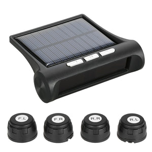 Wireless Solar Car Tire Pressure Monitoring System