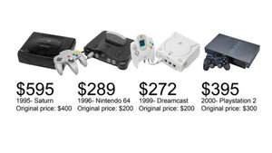 video game consoles through the ages