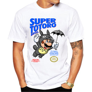 Super Mario Bros 'Totoro' Short Sleeve T-Shirt