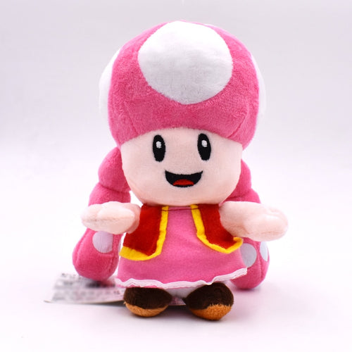 Super Mario Bros Toadette Plush Toy Doll