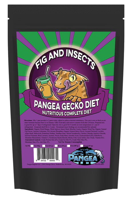 Pangea Fig & Insect Gecko Diet | Gecko Food