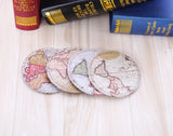World Map Coaster - Set of 4