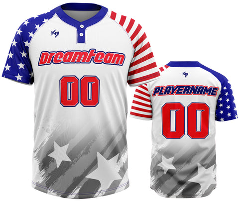 KitBeast DreamTeam 2 Button Jersey
