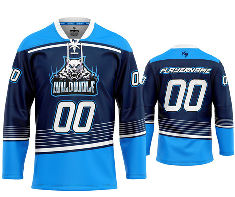 KitBeast Wildwolf Hockey Jersey