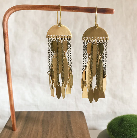 Brass chandelier jellies
