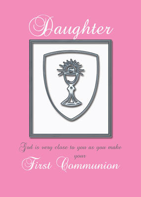 4425 Daughter, First Communion Silver Chalice