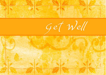 51641 Get Well Gold Background